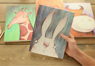 Adorkable Animal Diary Journal Notebook Sketch Book Blank White Paper Soft Cover