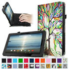 "PU Leather Folio Case Stand Cover for 10.1"" RCA W101 / W101 V2 10 inch Tablet"