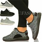 NEW WOMENS LADIES BLACK WHITE TRAINERS SPORTS RUNNING  SHOES LACE UP SMALL SIZE
