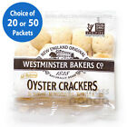 Westminster Bakers Soup& Chowder Oyster Crackers, Individually Packed 0.5oz each