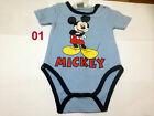 Disney Baby Boys Girls Bodysuits Jumpsuit Baby grows rompers newborn-23 months