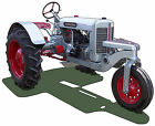 Silver King R66 farm tractor canvas art print by Richard Browne