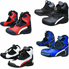 Short Motorcycle Boots / Shoes Paddock Biker Motorbike Scooter Boots All Sizes