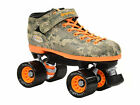 New Riedell R3 Digital Camo Quad Roller Derby Indoor Speed Skates