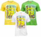 NEW Mens South Beach Retro London 79 Short Sleeve T Shirt 3 Cols Sizes S-2XL