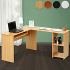 Corner Desk Computer Laptop Table Home Office Furniture Study Desktop Sideboard
