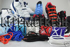 JORDAN 11 REPLACEMENT LACES AJ BRED CONCORD JAM COOL WHITE 72-10 BLACK SHOELACES