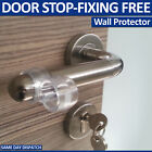 FIXING FREE WALL PROTECTORS DOOR HANDLE BUMPER GUARD STOPPER RUBBER STOP Stoppy