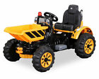 KIDS RIDE ON TIPPING DUMPER TRUCK TRACTOR ELECTRIC CHILDRENS 12V BATTERY TOY CAR