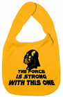 *The Force is Strong* Darth Vader Star Wars Funny Baby Boy Girl feeding Bib Gift
