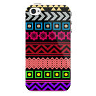 Aztec Pattern Protective Snap on iPhone 4 Case / Cover