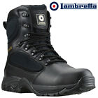 MENS LAMBRETTA LEATHER WATERPRROF MILITARY WALKING HIKING ANKLE BOOTS SHOES SIZE
