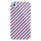 Barber Shop Protective Snap on Hard Shell iPhone 4 Case / Cover