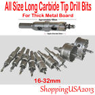 Внешний вид - All Size Stainless Steel Carbide Tipped Drill Bit Alloy Hole Saw Cutter Long*