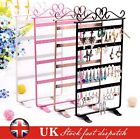 48 Holes Earrings Jewelry Display Rack Metal Stand Holder Storage Showcase New