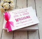 WEDDING GUEST BOOK PERSONALISED+FREE BOX~VINTAGE FAIRGROUND/CARNIVAL ANY COLOUR