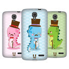 HEAD CASE DESIGNS PROFFESSAUR SOFT GEL CASE FOR ALCATEL PHONES 2