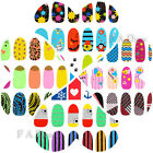 Lovely 12PCS Nail Art Stickers Tips Decoration Wraps Foils Decals For Manicure