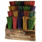 100 Quality Hand Made Indian Incense Sticks - 24 Fragrances & Mega Mix FREE P+P