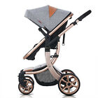 Luxury Pram Newborn Carriage Infant Travel Foldable Pram Baby Stroller Pushchair