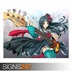 ANIME GIRL 117 (3196) Anime Poster - Picture Poster Print Art A0 A1 A2 A3 A4