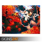 ANIME GIRL 155 (3191) Anime Poster - Picture Poster Print Art A0 A1 A2 A3 A4