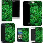 clip on case fits apple iphone 4 4s 5 5s 5c - green clover