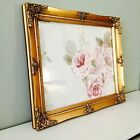 ORNATE VINTAGE ANTIQUE STYLE PICTURE FRAME 10 x 12 GOLD BLACK SILVER IVORY WHITE