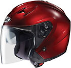 New HJC IS-33 Solid Motorcycle Open Face Riding Helmet