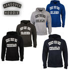 Mens Hangover Hoodie Fleece Sweatshirt Pullover Hoody Hooded Top Sizes Printed