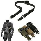 Tactical Sling 1 & 2 Point Multi Mission AR AK Rifle Hunting Adjustable Strap