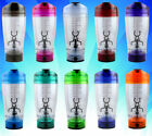 450ml Portable Protein Shaker Tornado Electric Mixer HandHeld Battery Bottle Cup