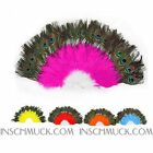C17 Belly Dancing Costume Feather compartments Fan Dance courses inschmuck