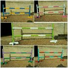 3ft Horse/pony show jump / practice wings with poles...various colours