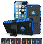 Shock Tough Hard KickStand Case Cover For Mobile Phones Free Screen Protector