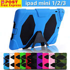 Silicone iPad min Case Cover Skin For Apple iPad Mini 1 2 3 Heavy Duty