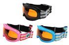 Snow Goggles Kids Childrens Ski Snowboard Boys Girls Youth Junior With Glasses