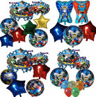 JUSTICE LEAGUE (BATMAN SUPERMAN GREEN LATERN) BALLOON BIRTHDAY PARTY DECOR GIFT
