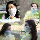 Spring Summer GOLF MASK sun block UV protection fashion face sun shade wear