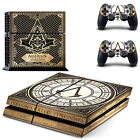 Decal Vinyl Skin Protection Sticker for Playstation4 PS4 console & Controller
