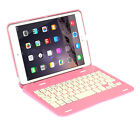 New Foldable Bluetooth Wireless Keyboard with Stand Cover Case For iPad Mini 1