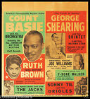 0468 Vintage Music Poster Art  Count Basie  *FREE POSTERS