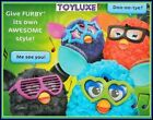 Furby FRAMES 2 Pk GLASSES & STICKERS Accessories for Interactive Electronic Toy
