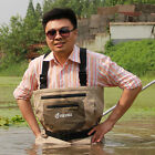 Breathable waders for fly fishing, waterproof chest waders with stocking foot