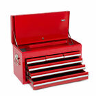 Wolf Red 6 Drawer Tool Top Box Chest Metal Cabinet Garage Ball Bearing