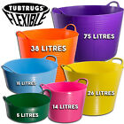 GENUINE TUBTRUG FLEXIBLE HORSE FEEDING WATER BUCKET VARIOUS COLOURS AND SIZES