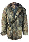 New Mens Camouflage Tree Print Quilted Hunting Jacket/Coat Shooting - Fishing