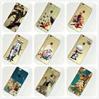 Gintama Anime Manga iPhone 4s 5s SE 5c 6s 7 Plus Case Silicone TPU Free Shipping