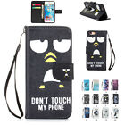 Pattern PU Leather Cards Wallet Holder Protecter Cover Case For iPhone 5&6&Plus