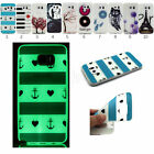 Ultra Rubber for Samsung Galaxy Soft TPU Glow In The Dark Luminous Case Cover